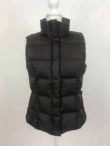 Eddie-Bauer-Women-039-s-Goose-Down-Vest-Puffer-Jacket-Coat-Brown-Size-Medium