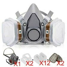 Respirator Half Mask Annvchi Paint Face Cover For Painting Machine Polishing