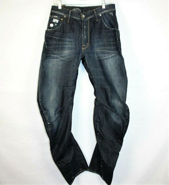 1c97b7700156 G-Star Raw 3301 Arc Loose Tapered Men's Jeans Size 31/34 for sale ...