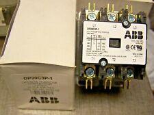 New Abb Definite Purpose Contactor 30 Fla 40a Res 3 Pole 120 Vac Coil Dp30c3p 1