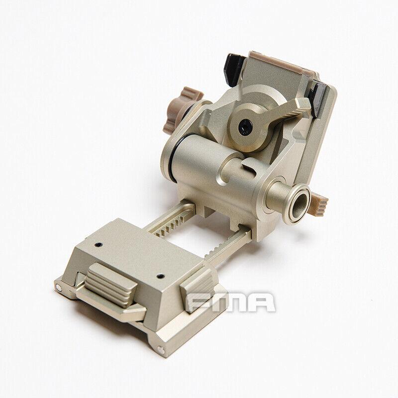 FMA táctico NVG Mount L4 G24 Casco Rápido CNC DEVGRU  Azul Marino SeaLs Oda de aluminio  diseño único