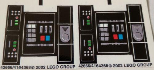 LEGO ® Star Wars customsticker for 8010 Darth Vader 2002 VINILE CMYK HQ precut