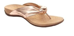 019d8ee2c123 NEW WOMEN VIONIC REST PIPPA ROSE GOLD PINK SANDAL ORTHAHEEL LEATHER ...