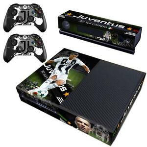 Faceplates, Decals & Stickers Juventus Cristiano Ronaldo Sticker Xbox One For Console And 2 Controllers