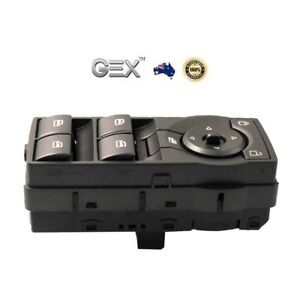 Replacement-Power-Window-Master-Switch-Control-For-Holden-Commodore-VE-Red-Light