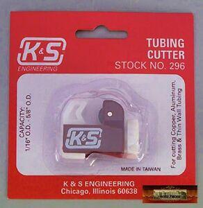 "M00068 MOREZMORE HPA K&S MICRO Metal Tube Tubing Cutter Cuts 3/32"" - 5/8"" T20"