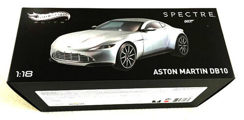 James Bond 007 Spectre Aston Martin DB10 1 18 Diecast Hot Wheels Elite CMC94