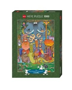 (HY29284) - Heye Puzzles - Cartoon , 1000 Pc - Photo, Mordillo
