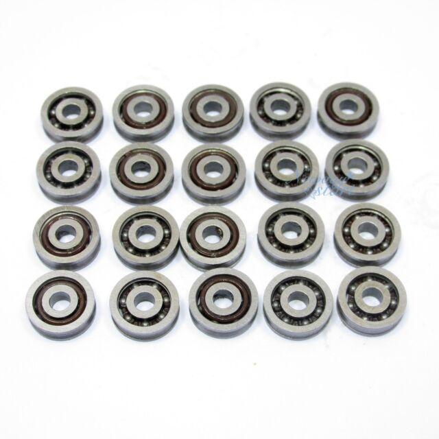 20pcs 623VV V Groove Ball Bearings Vgroove  3 X 10 X 3mm Free Shipping