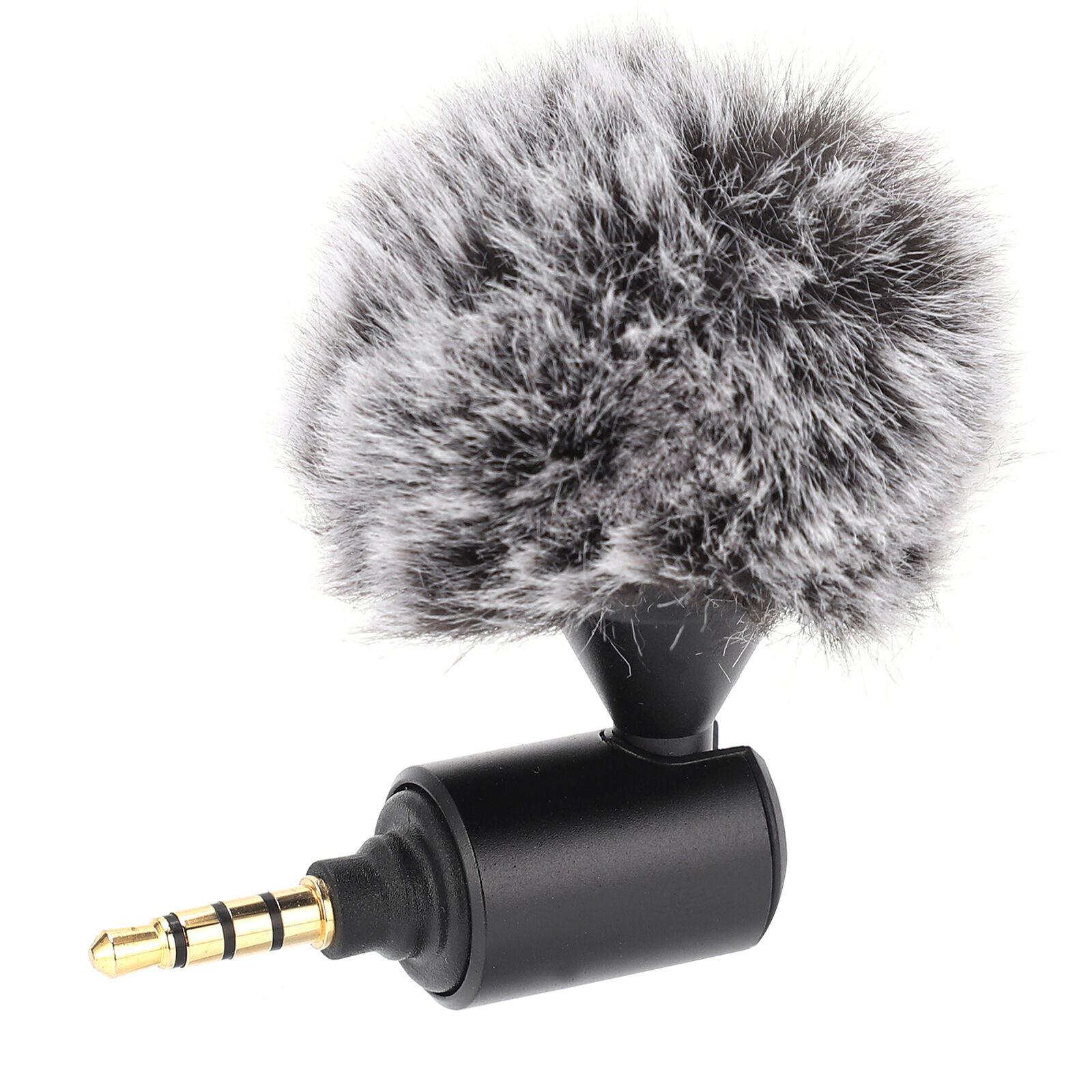 Mini 3.5mm Plug and Play Cardioid Microphone Mic for Mobile Phone DSLR Camera
