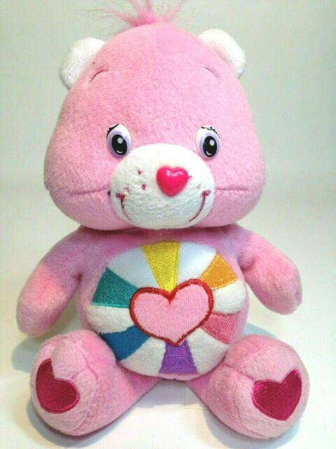 Message Recorder Stuffed Animals, Care Bears Pink Hopeful Heart Teddy Bear Soft Plush Stuffed Animal 8 Doll Toy For Sale Online