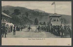 Prattsville-Greene-Co-NY-c-1907-Postcard-RACE-TRACK-at-Agr-amp-Hort-Soc-Fair