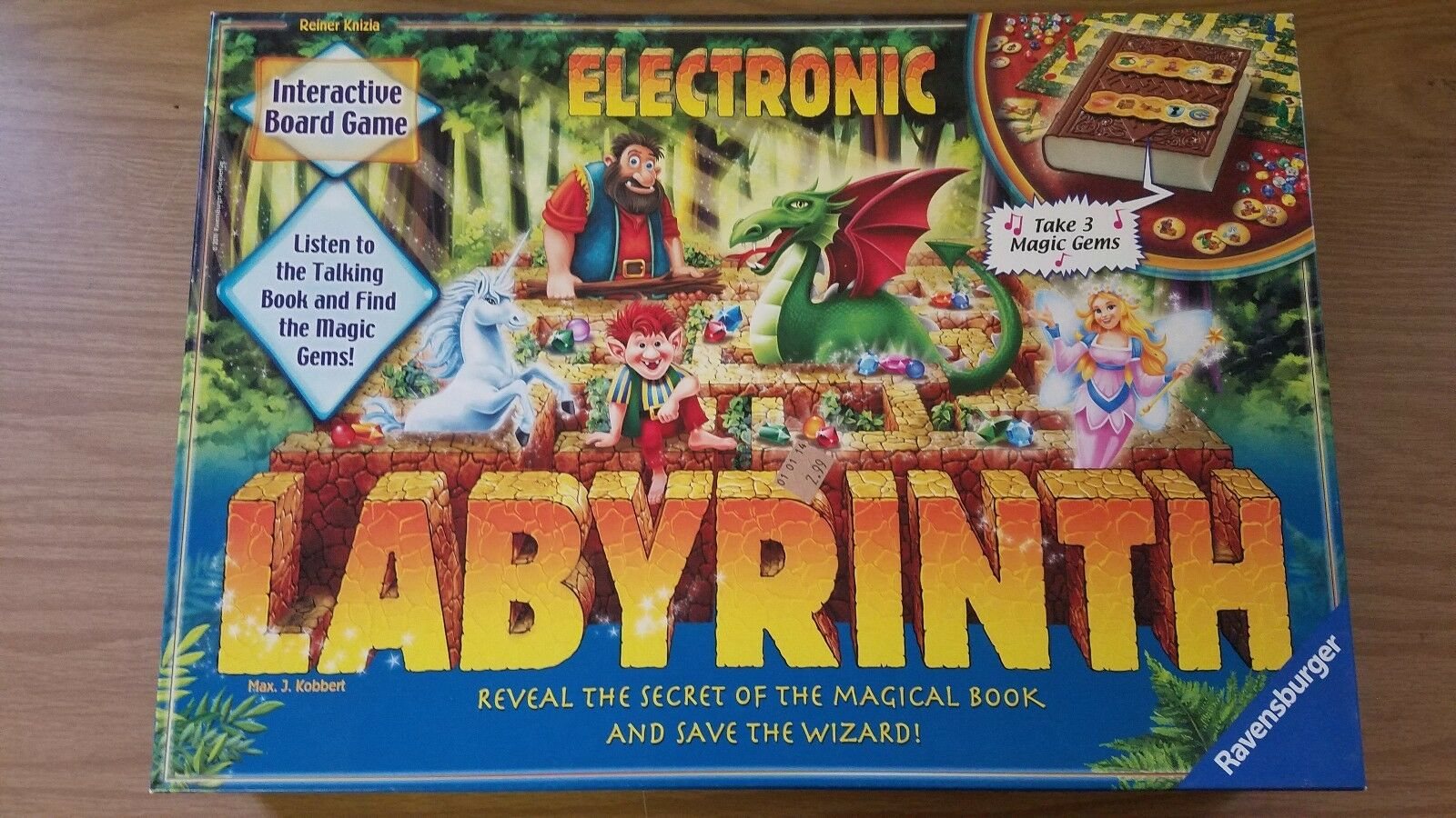 2011 Electronic Labyrinth Max J Kobbert Board Game by Ravensburger COMPLETE