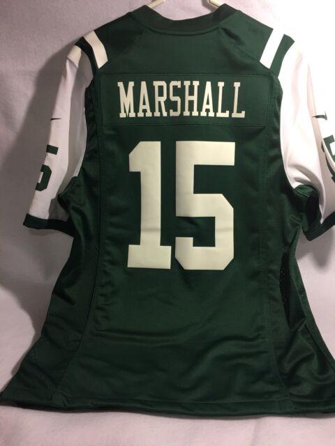 Nike Jets NFL on Field Number 15 Marshall Green Men Jersey Size Medium