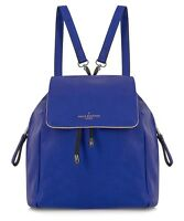 Paul's Boutique Gwyneth Blue And Gold Tone Backpack