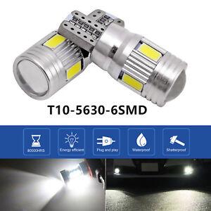 2x-T10-High-Power-6000K-LED-Nebelscheinwerfer-Scheinwerferlampe-Weisse-Lampe