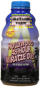 Hollywood 48-Hour Miracle Diet, 32-Ounce Bottles Pack of 2