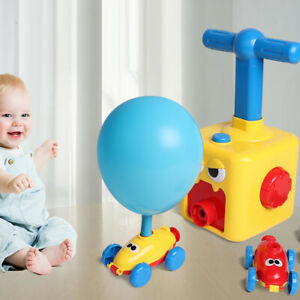 Aufblasbar-Inertial-Power-Ballon-Auto-Set-Experiment-Fahrzeug-Spielzeug