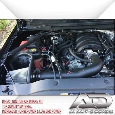 K/&N Performance Air Intake Kit for Chevy//GMC 14 Silverado//Sierra 4.3L V6