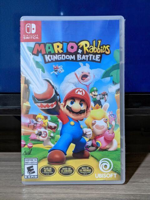 Mario + Rabbids Kingdom Battle (Nintendo Switch, 2017) 🇨🇦