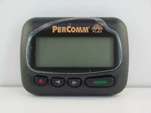 PERCOMM-PA8002-ALPHANUMERIC-PAGER-929-6625-MHz-AS-IS-NO-RETURN