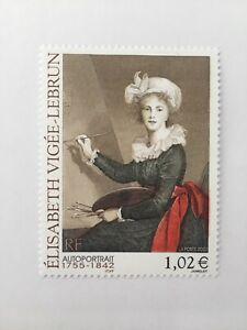 Timbre France 2002 YT 3526 Neuf**. Elisabeth Vigée-Lebrun