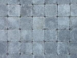 belgisches altstadt pflaster 15x15 cm grau anthrazit pflastersteine beton ebay
