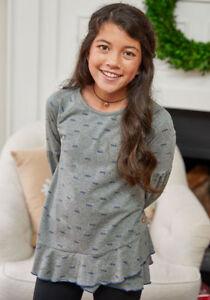 9528b6681c1e NWT Girls Matilda Jane Choose your own path Frosty Days Sweatshirt ...
