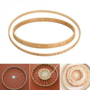 Round Wooden Loom Handmade Knitting Machine Knitting Tool Craft Wall Hanging DIY