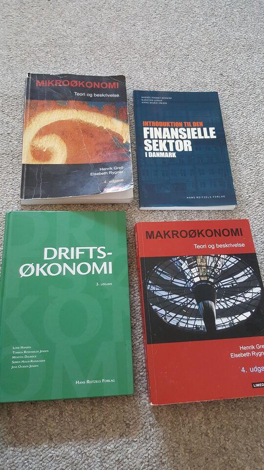 Finansøkonom, 1. Og 2. Semester