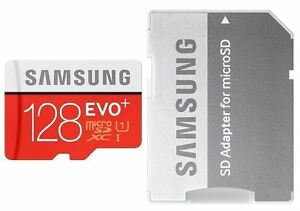 Samsung 128gb Evo Plus Class 10 Micro Sd Card With Adapter Ebay
