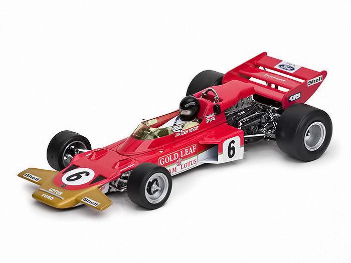 QTZ18272 LOTUS 72  1970 AUSTRIAN GP WINNER, WORLD CHAMP JOCHEN RINDT 1 18  tout en haute qualité et prix bas