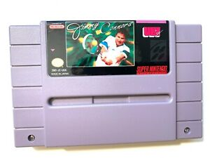 Jimmy-Connors-Super-Nintendo-Game-SNES-Tested-Working-amp-Authentic