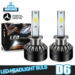 LED-Headlight-Kit-H1-6000K-White-Bulb-Low-Beam-60W-for-ACURA-RSX-2002-2006