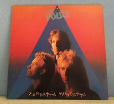 THE POLICE Zenyatta Mondatta 1980 UK vinyl  LP + INNER EXCELLENT CONDITION    C