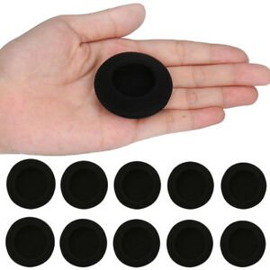 10 pcs 45mm Foam Pads Ear Pad Sponge Earpads Headphone Cover For Headset