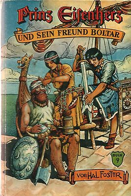 Prinz Eisenherz 9 HC Hal Foster Badischer Verlag 1.Auflage COMIC KLASSIKER 50er