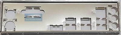 IO I//O Shield Back Plate Blende Bracket for ASUS PRIME A320M-C R2.0 A320M-C CA