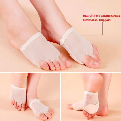Ball Of Foot Cushion Pads Metatarsal Support Insoles Neuroma Forefoot Pain Pad
