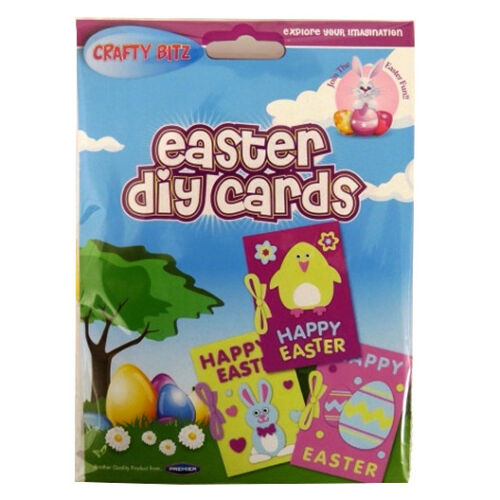 Children/'s Make Your Own Easter Cards by Crafty Bitz