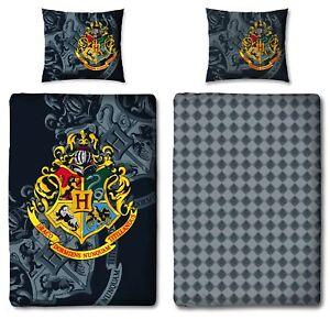 Hogwarts Harry Potter Wende Bettwäsche Set 135x200cm 80x80cm 100
