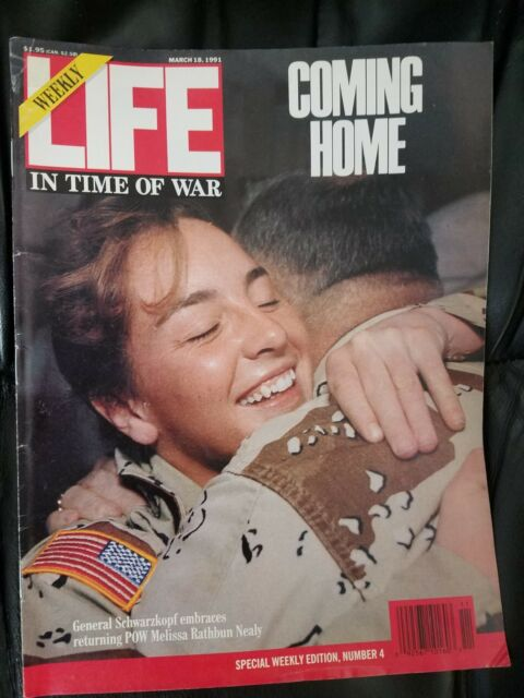 LIFE MAGAZINE MARCH 18,1991 IN TIME OF WAR  SPECIAL WEEKLY EDITION