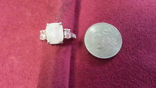 Beautiful Pink Gems CZs Vintage AVON  Ring Real Sterling Silver*Size 7 *F327
