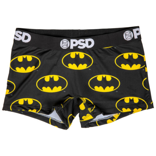 Details about  /DC Batman Symbol Microfiber Blend Boy Shorts Underwear Black