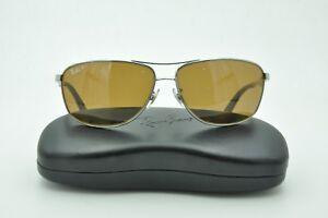 df30c5b5df Ray Ban RB 3506 Sunglasses 132 83 Gunmetal Brown Polarized Lenses ...