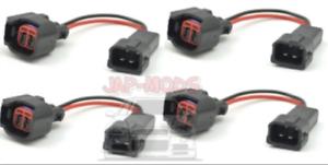 EV6//ID INJECTEURS pour HONDA OBD2 Injecteur Harnais//connectorsx 4//S2000//EP3//Type R//UK