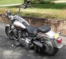 'Bobber Bracket' Solo Swingarm Bag Hard Mount Kit- For Harley Deluxe FLSTN