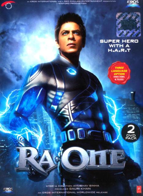 RA-ONE (Hindi DVD) (2011) (inglese, arabo sottotitoli) (DVD Nuovo di Zecca originale)