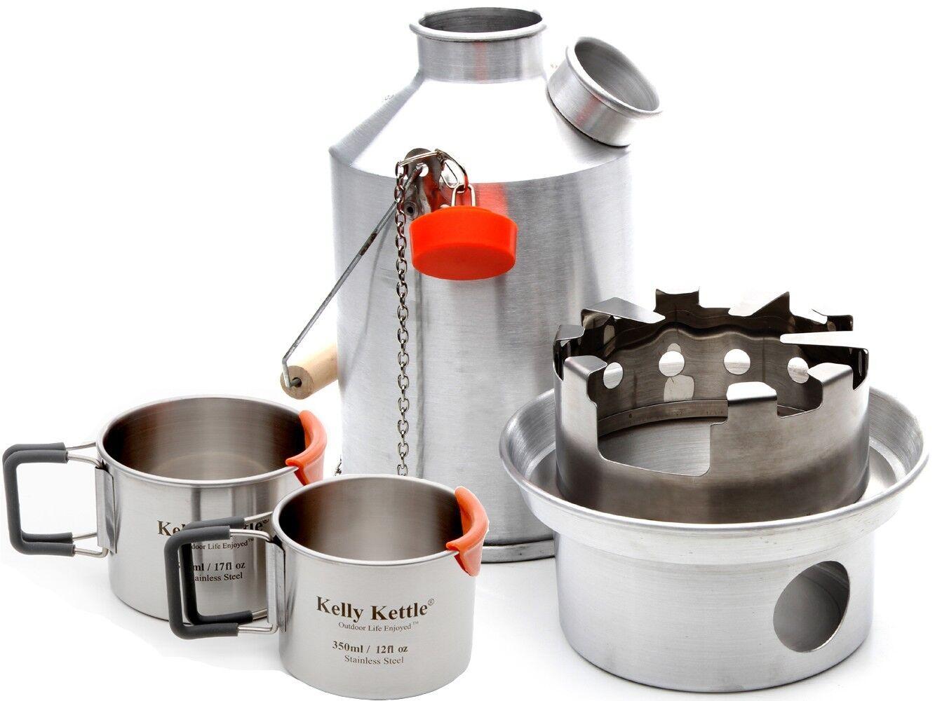 Alu. ' Scout ' (1.2 Litre) Kelly Kettle, Wasserkessel, Sets, Usw. Zelten Wasserkessel, Kettle, Holz a8d883