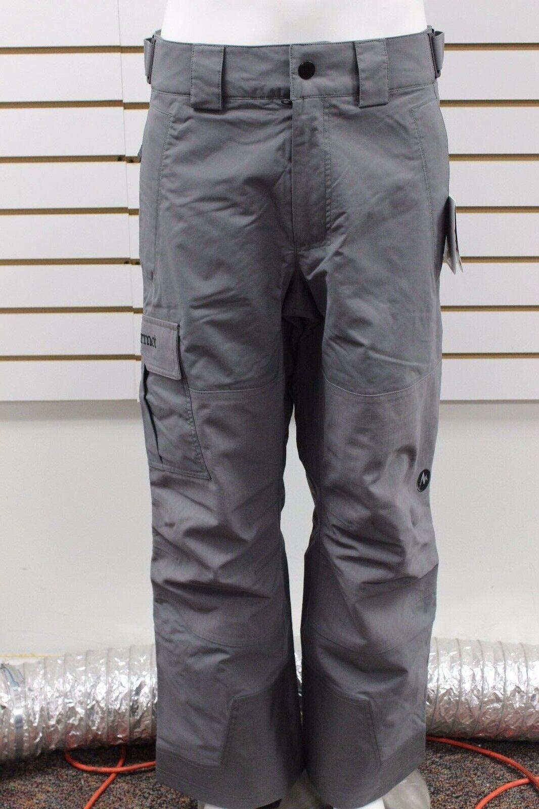Marmot Herren Lifty Schnee Hose Asche Wasserfest 71550 Neu mit Etikett